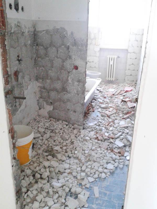 строителни ремонти София къртене на баня